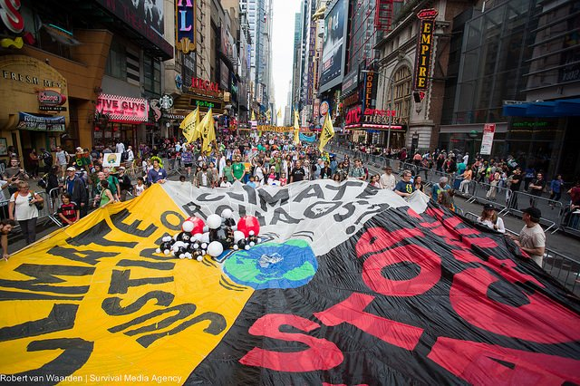 People's Climate:  Countdown to Paris, 2015